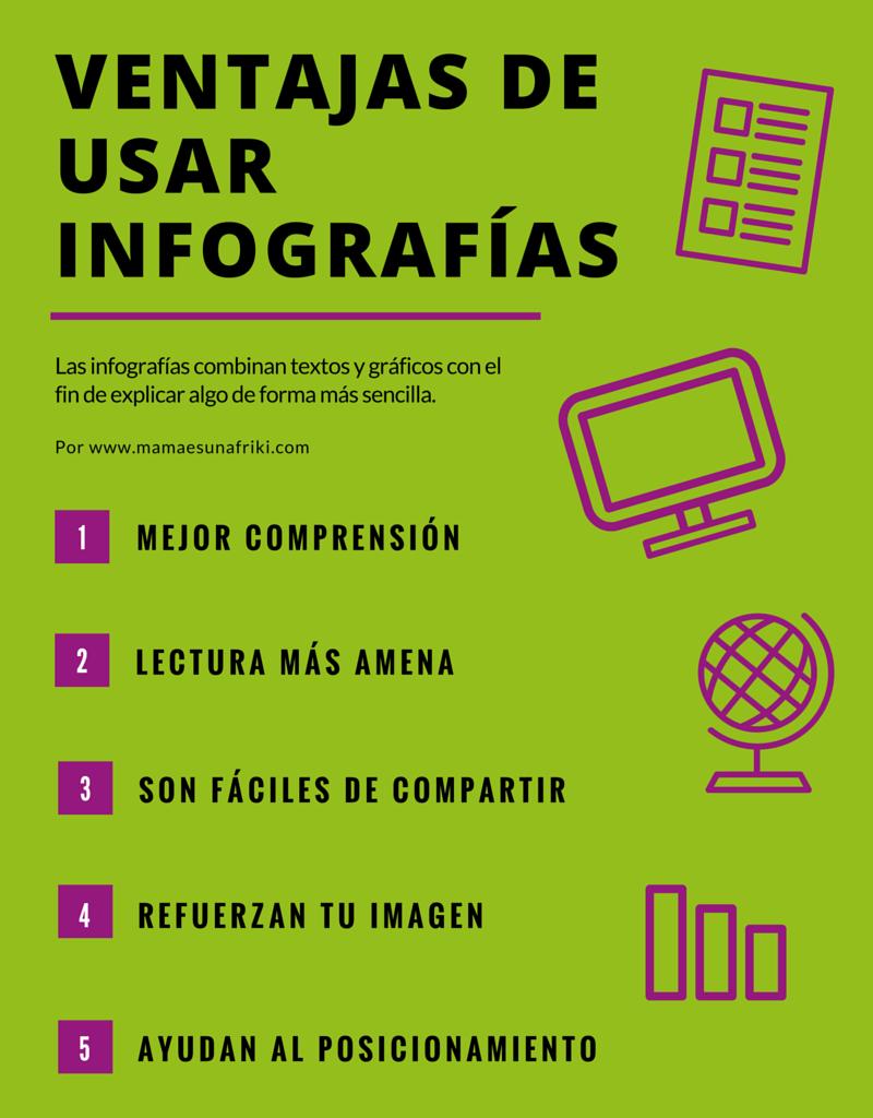 Ventajas de usar infografías en un blog