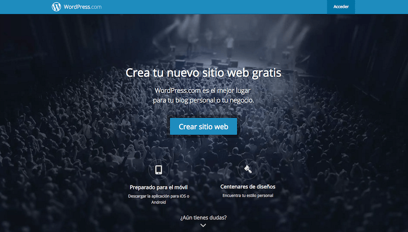 Paso 0: Como crear un blog con WordPress .com